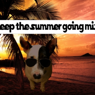 keep the summer going/mykonos mix