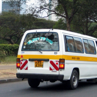 anything is possible from the seat of a matatu