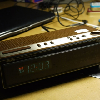 Midnight Clock Radio 1980