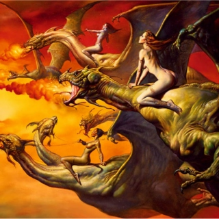 Eclectic mix 1: Dragons are hot