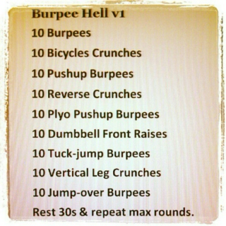 Do It With Burpees!