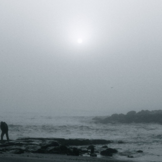 Cold Morning on the Beach