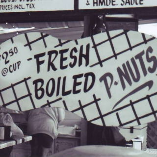 fresh boiled p-nuts