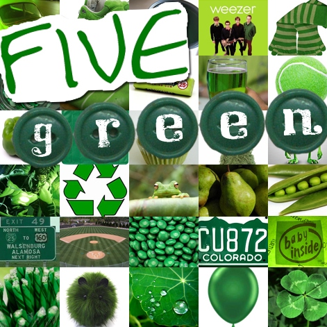 Five: Green Mix (A Dust Sleeve Series)