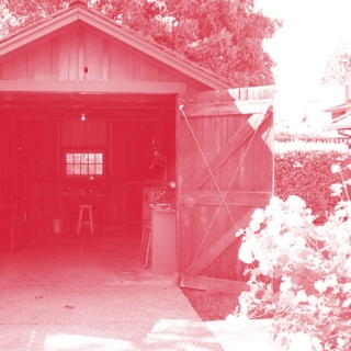 the red garage