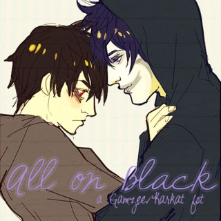 all on black [an AU!gamzee/karkat mix]