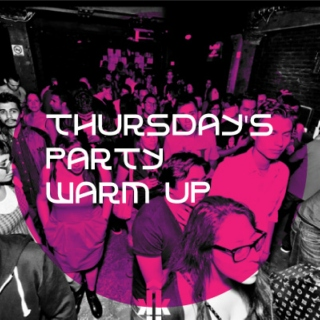 Thursday's party warm up!