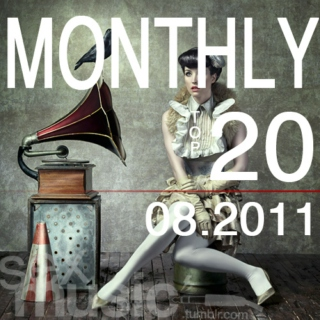 sexmusic // monthly top 20 - 08.2011