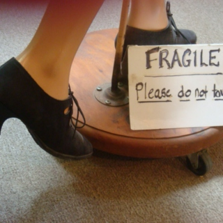 Fragile - please do not touch!