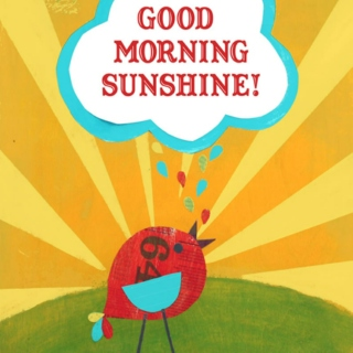 good morning sunshine! ☼
