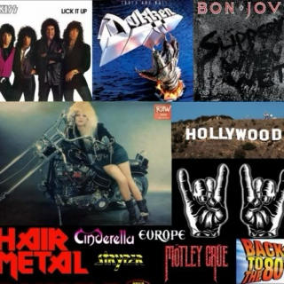 Glam Metal 8tracks vol.3