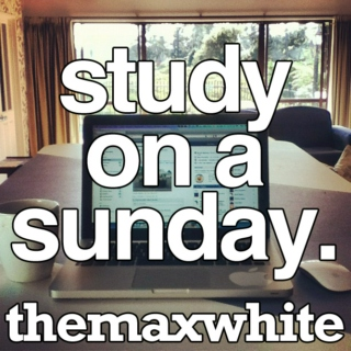 study on a sunday.