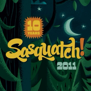 Sasquatch! 2011 mix