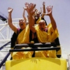 monks on a roller coaster!!!!!!!!11