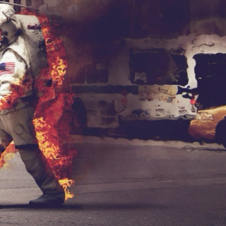 The man from space with the burning desire to clean