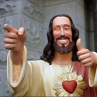 Buddy Christ said