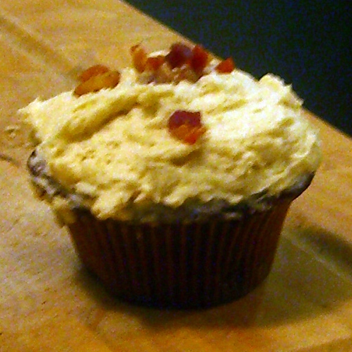 8=10: a maple-bacon cupcake for you.