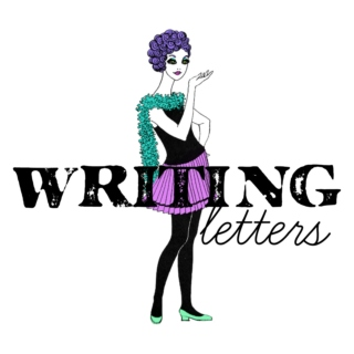(writing letters)