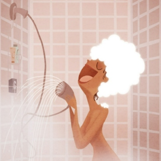 The shower spectacle