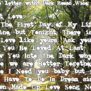Song Title Love Letter