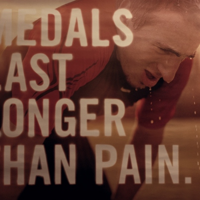 Medals Last Longer Than Pain.