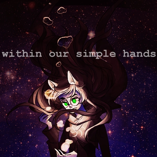 within our simple hands