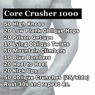 Core Crusher 1000