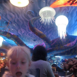 Space age martinis and giant jellyfish, Mr Brown