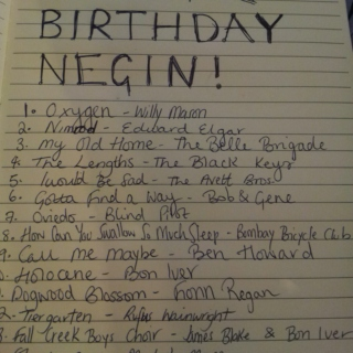 HAPPY BIRTHDAY NEGIN!!!