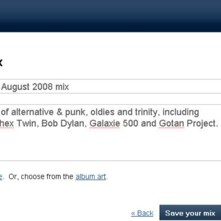 nevermind's August 2008 mix