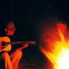 By the campfire's light