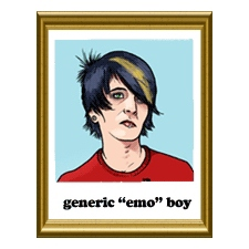 "Your Scene Sucks: Generic ""Emo"" Boy"