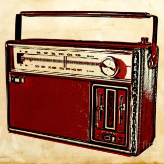 Best heard with a cheap transistor radio