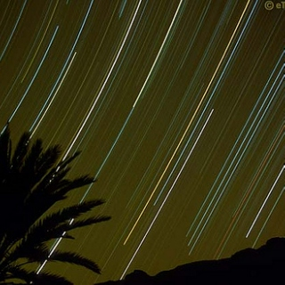 And so we drove to the desert to watch the meteor shower