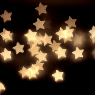 my mind is filled with silvery stars