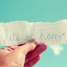 Let's be happy!