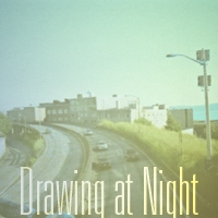 Drawing at Night