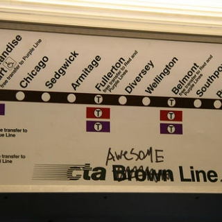 songs for riding the el (brown line).