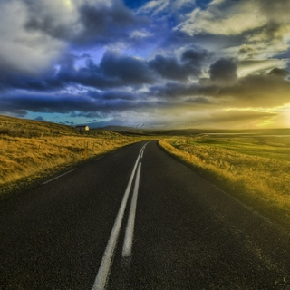 There's something good waiting down this road.