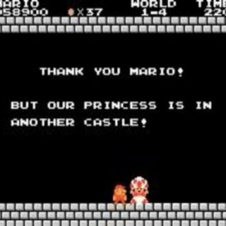 Sorry Mario, Your Princess Is In Another Castle