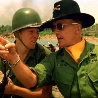 I love the smell of napalm in the morning.