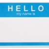 Hello, my name is ______