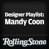 Designer Playlist: Mandy Coon