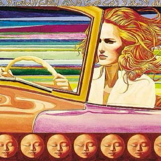say hey to sun-stained highways