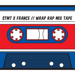 STMT X France Deux Deux // Wrap Rap Mix Tape
