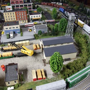 Living In A Diorama With Cheap Trains