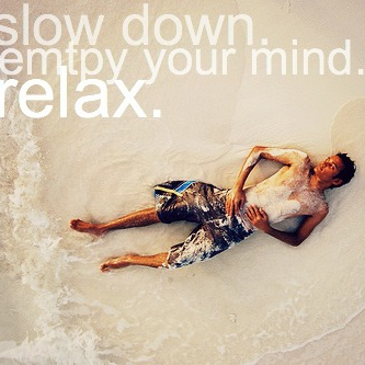 Empty Your Mind & Relax