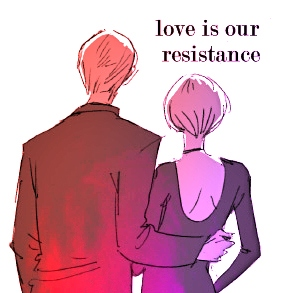 ♘ love is our resistance ☼