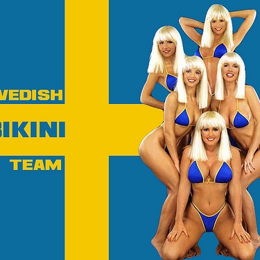 Swedish Bikini Team