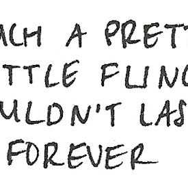 Such a pretty little fling couldn't last forever.